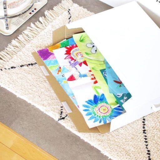 子供の作品をきれいに保管できる!おすすめの収納アイテム2選