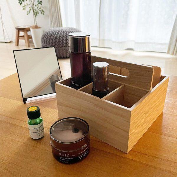無印良品の木製ツールボックス