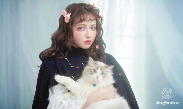 魔女コスメ薔薇の魔女アイシャドウパレット