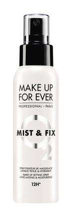 MAKE UP FOR EVER《ミスト&フィックス》保湿力&メイクキープ力がパワーアップして6/24〜発売中!メイクの仕上がり・持ちをアップ