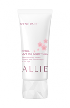 """ALLIE《アリィー エクストラUV ハイライトジェル PK》2月1日〜数量限定発売中!美容成分配合のジェルをまとい、""""桜ツヤ肌""""と紫外線対策を一緒に叶えて。"""