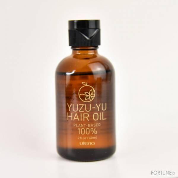 ウテナゆず油 無添加ヘアオイル
