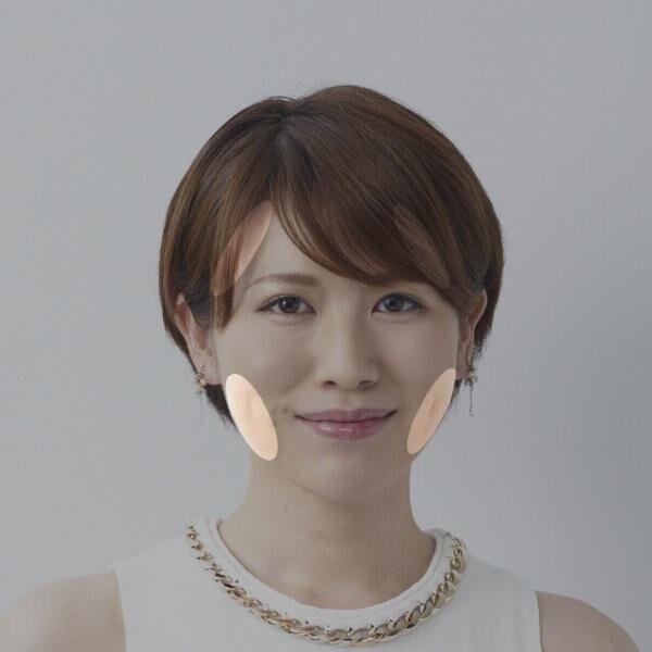 錯覚を利用する!肌の明るさ調整して小顔をGETするメイクテク