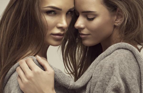 Beautiful portrait of young women
