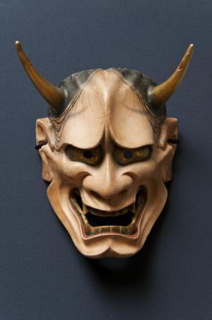 Japanese Traditional Face Mask,Nohmask Hannya