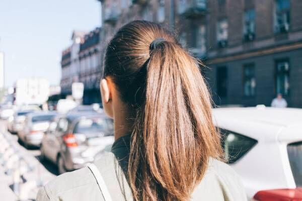 髪だって紫外線にあたれば日焼けする