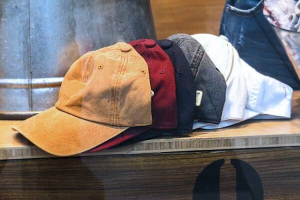 いろいろな帽子を利用しておしゃれに