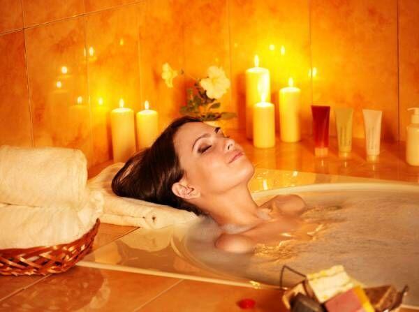 入浴で汗の質を変える