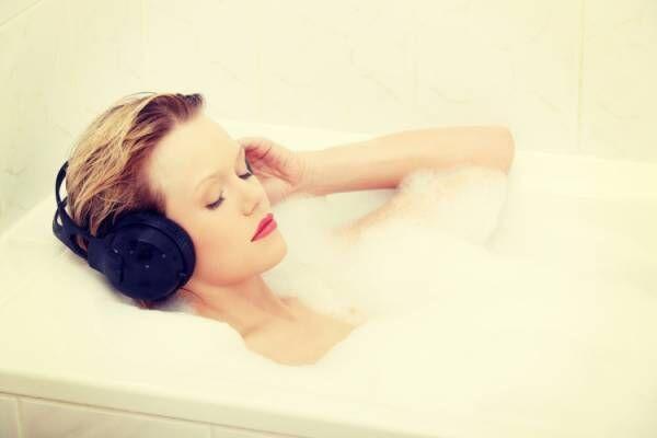 好きな音楽をかける