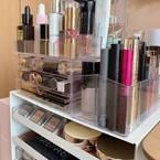 お洒落部屋に変身!化粧品の収納アイテムは、IKEAと100円ショップで手に入れよう
