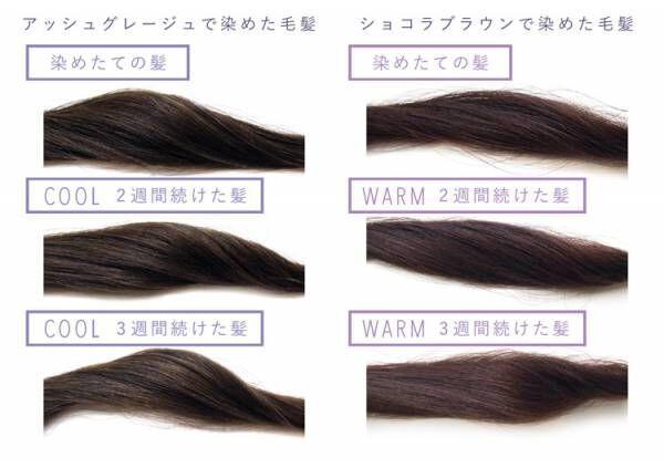 どんな髪色にも合う色展開