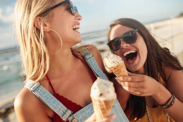 アイスクリームは太りにくいって本当?