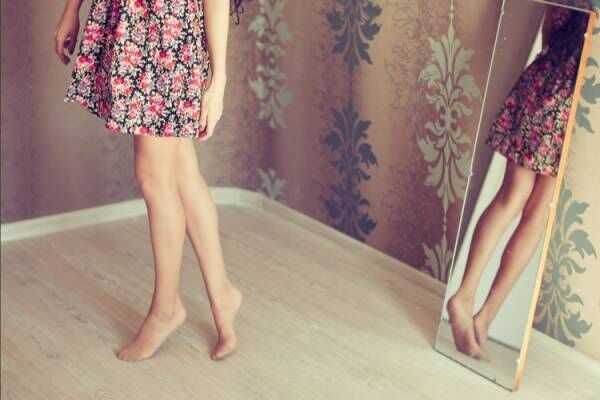 もっと足を長く見せたい