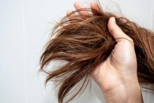 チリチリの髪の毛の解消方法
