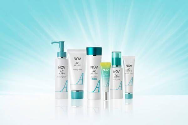 「ノブACアクティブシリーズ」より化粧水と部分用美白クリームがリニューアル