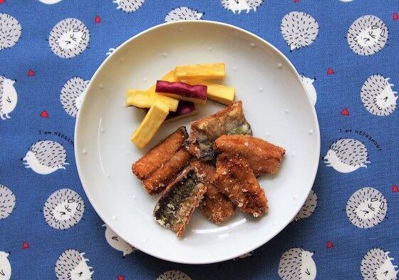 元気な子どもが育つ毎日のごはん 成長期の子どもに食べさせたい、今が旬の「さんまの竜田揚げ」