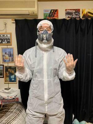 「弟氏、本気装備で学校行ってた」 感染症流行の中で登校した生徒の姿がこちら