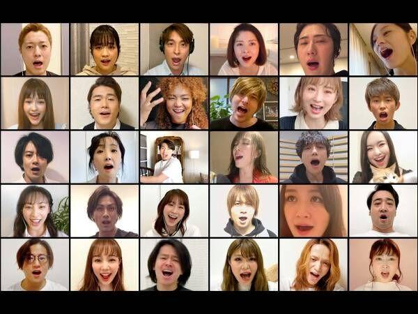 日本の豪華俳優陣が歌いつなぐ『民衆の歌』 「感動で鳥肌」「涙が出た」の声