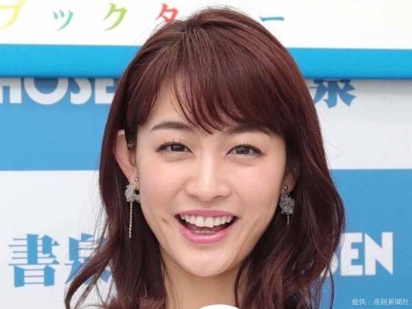 新井恵理那のドアップに「おかわり!」 うなじチラリのセクシーショットにも注目!