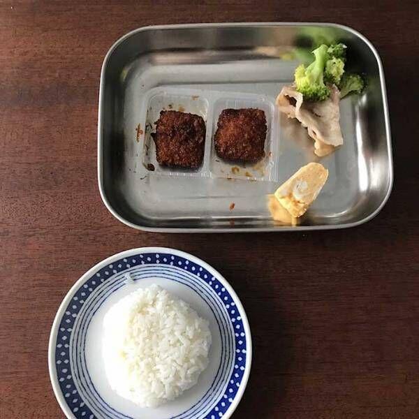 自らの朝食を撮影した主婦 リアルすぎる『4枚』をご覧ください