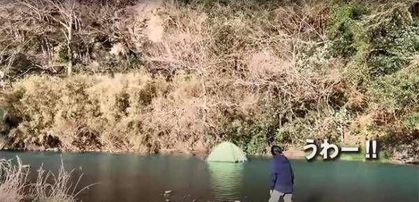 キャンプ初心者 思わぬハプニングに21万人が吹いた