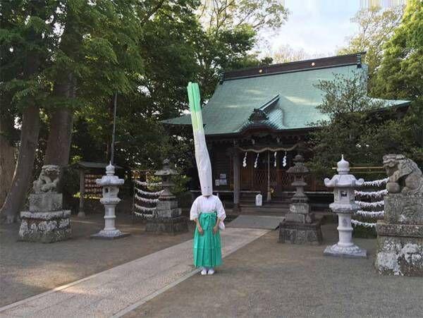 神社で撮影された『茅の輪くぐり』 異様な動画に「ネタ的に好き」「笑った」