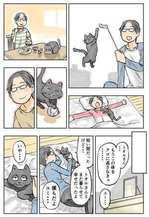 一週間だけ愛猫の体を借りて天国から戻ってきた女性 しかし、真実を知り涙腺崩壊