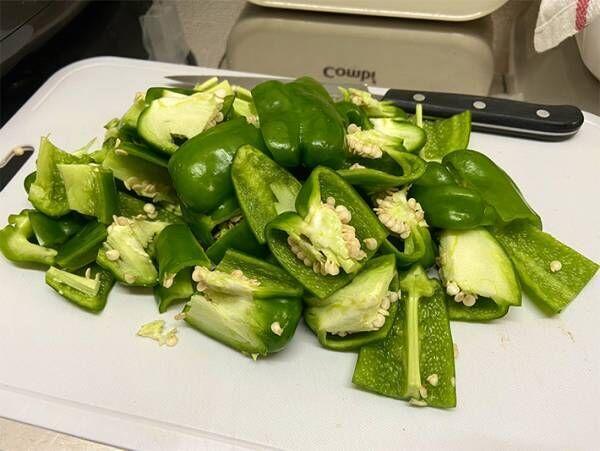 種もそのまま炒める『無限ピーマン』レシピに反響 「箸が止まらない」「さっそく作る」