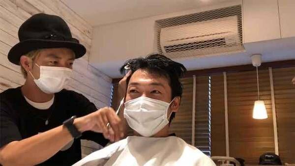 おばたのお兄さんがJ.Y.Parkの髪型に大変身?