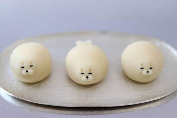 白くてモチモチ! かわいすぎる和菓子に心奪われる