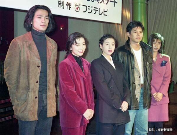織田裕二の若い頃がかっこいい!現在の写真と比べてみると…