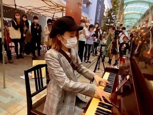 ドラマ終了日にストリート演奏 ドラマ『半沢直樹』のテーマで通行人に「恩返しだ!!」