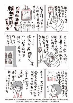 O型の人に献血を呼びかける日本赤十字社 その理由を聞いた