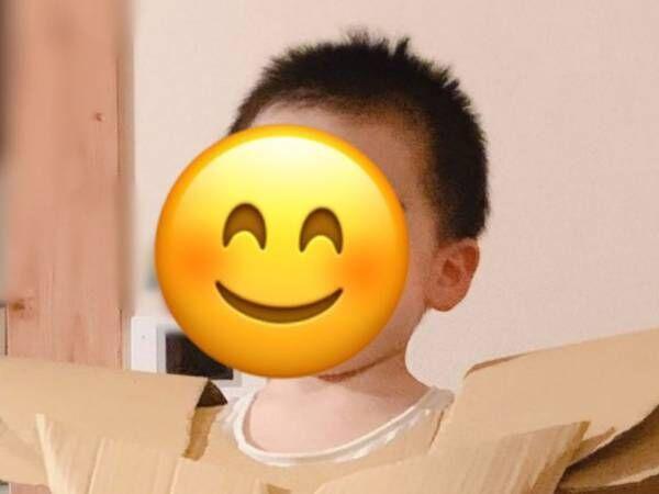母親が入浴中に、一体何が…! 変貌を遂げた2歳の息子の姿がコチラです