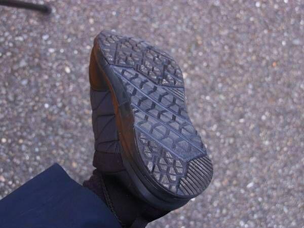 1500円のワークマン『防寒トレッドモック』 2時間散歩の開始直後、違和感があったが?