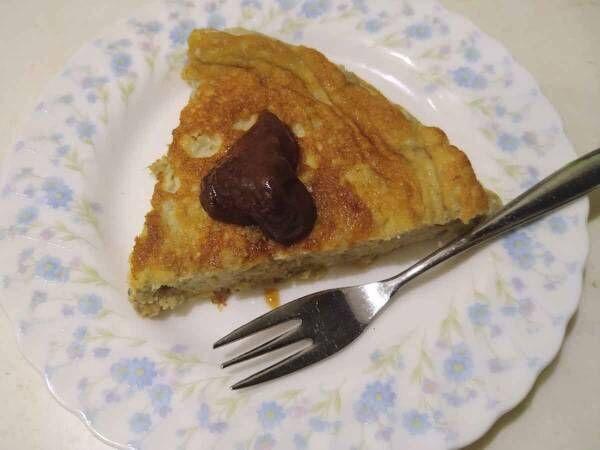 簡単にケーキが作れる?! バナナと卵でスフレケーキを作ってみました!