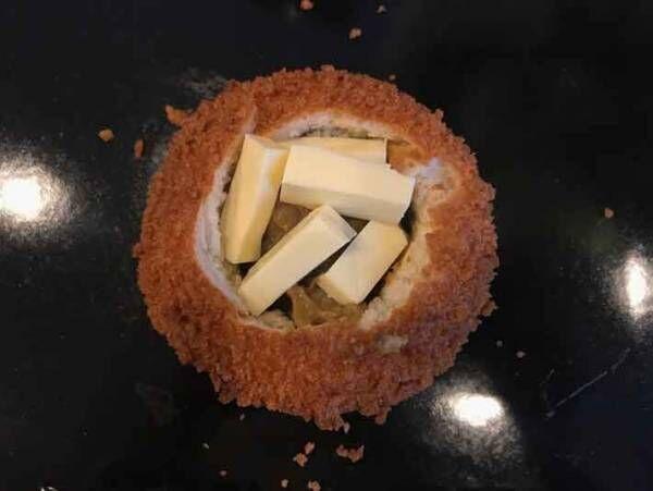 セブンイレブンアレンジレシピ!カレーパン×ベビーチーズが激ウマだった