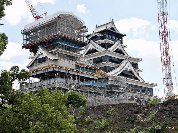 おめでとう! 熊本地震で甚大な被害を受けた熊本城、ついに天守閣が完全復活!