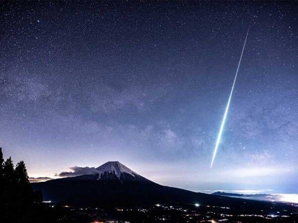 伊豆大島上空で確認された『火球』 とらえた1枚に反響
