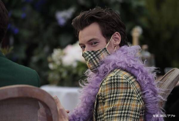 「マスクでワクワクするとは」 セレブたちのマスクファッションが、さすが!