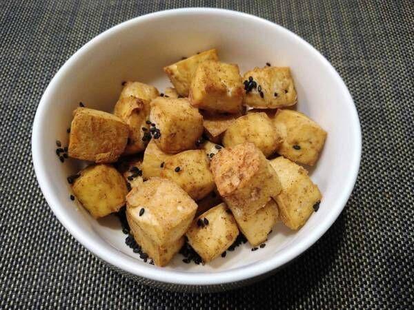 食感が面白い! これは悪魔的? ただ焼くだけの簡単『おつまみ豆腐』をご紹介!