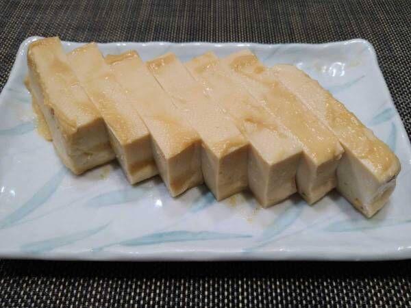 日本酒にもワインにも合う まるでクリームチーズのような『豆腐のみそ漬け』を作ってみました!