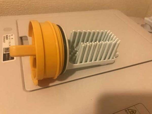 ドラム式洗濯機の糸くずフィルターの掃除が楽になる方法試してみた!その結果…
