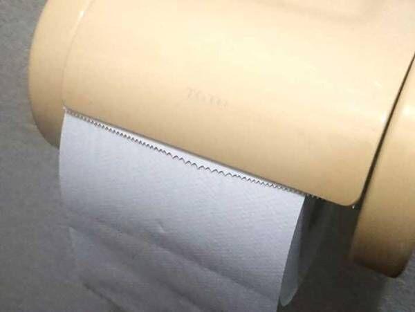 トイレの異変に気付いた夫 『フタの裏』を見てみると?