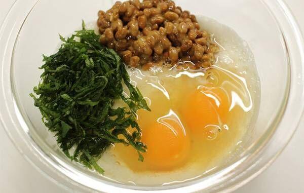 「ふわっふわ」「一瞬でなくなる」 納豆、とろろ、卵をまぜて焼くと?