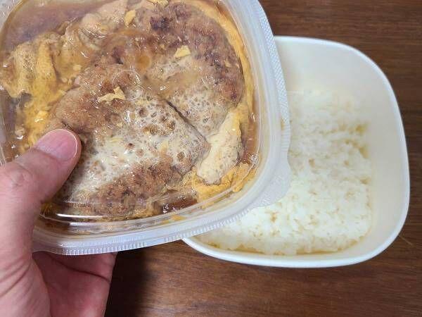 セブンイレブンのカツ丼はうまい? チルドの商品を食べてみると…