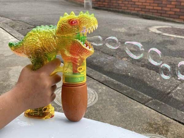 『3COINS』ってすごい! ハイクオリティなシャボン玉&水鉄砲に子供大興奮
