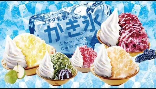 コメダ珈琲のかき氷を注文して驚愕想像を超えるサイズに「ミニとは?」