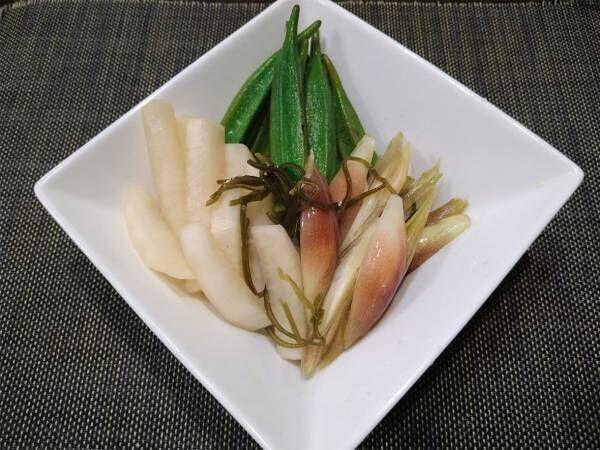 生ならではの『シャキッ』とした食感がイイ! 簡単に作れる夏野菜の『即席漬け』 は…