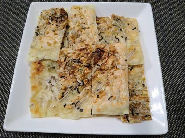 カルシウムたっぷりで低糖質 レンジで作れる『チーズDEせんべい』のレシピをご紹介!
